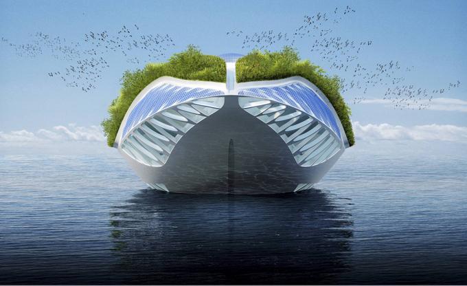 Physalia, the super yacht