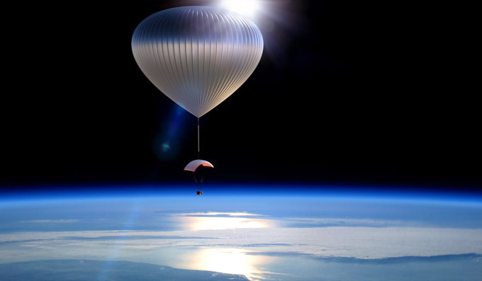 In 2016, tourists will fly to space on balloons