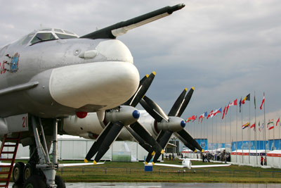 MAKS 2009 Air Show Opens in Moscow Region