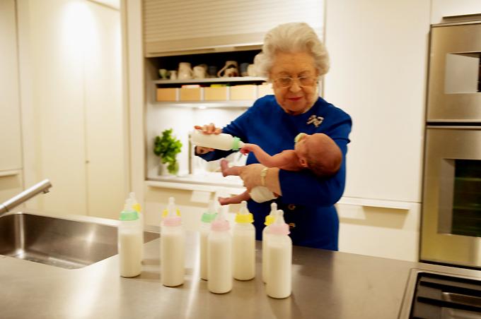 Queen Elizabeth II is 90