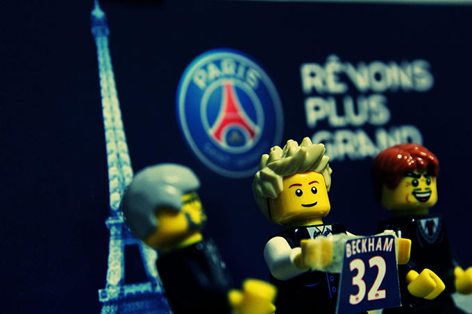 David Beckham immortalized in LEGO