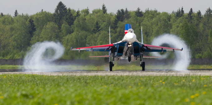Russian Knights mark 20th anniversary