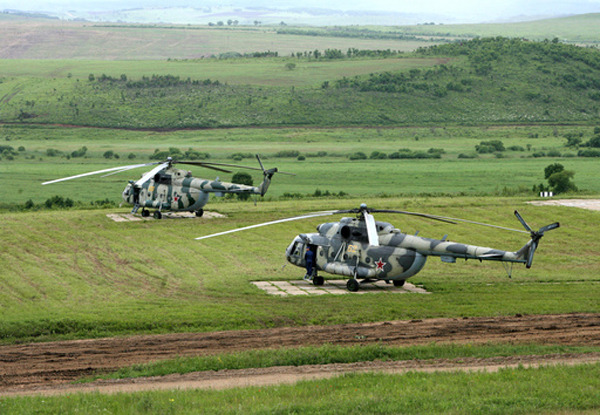 Vostok 2010 Military Drills Draw to End