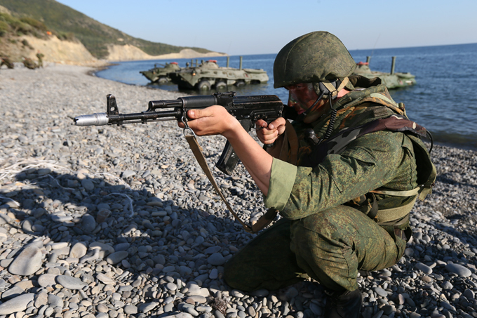 Kavkaz-2012 drills in Southern Russia