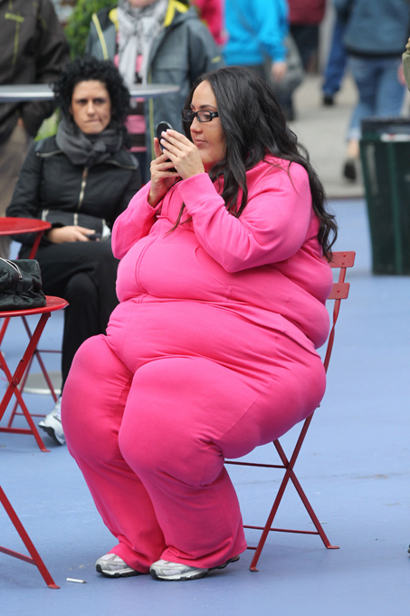The fat suit of Real Housewife