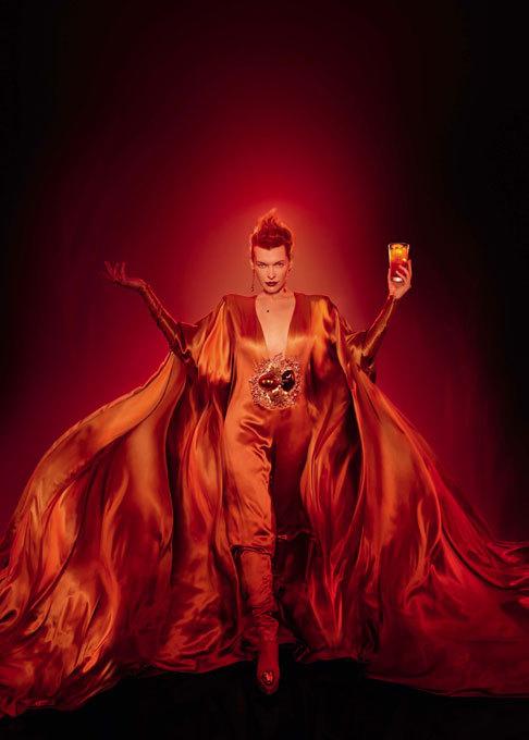 Milla Jovovich in new calendar