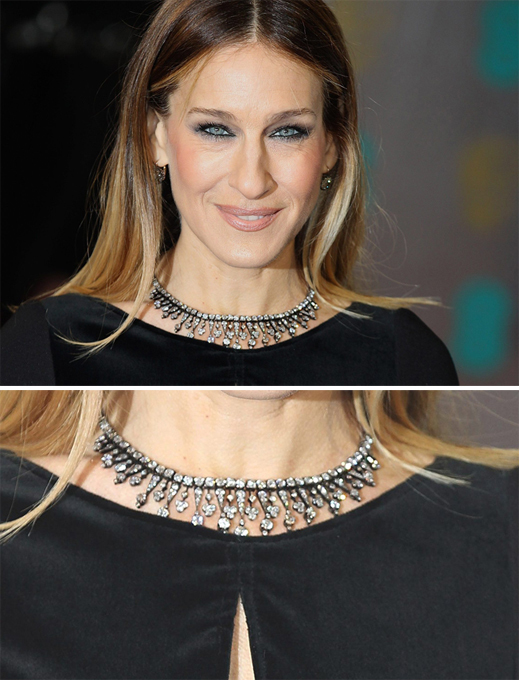 Celebrity jewelry at BAFTA-2013