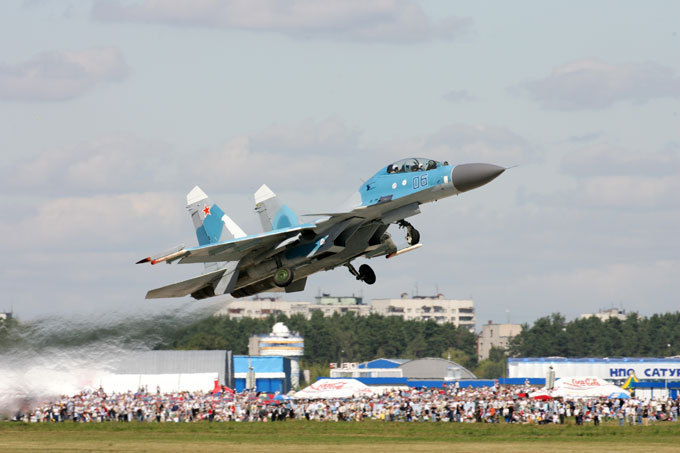 Sukhoi fighter jets
