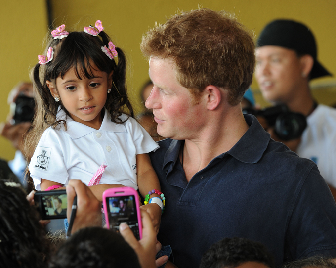 Prince Harry named Man of the Year in Britain