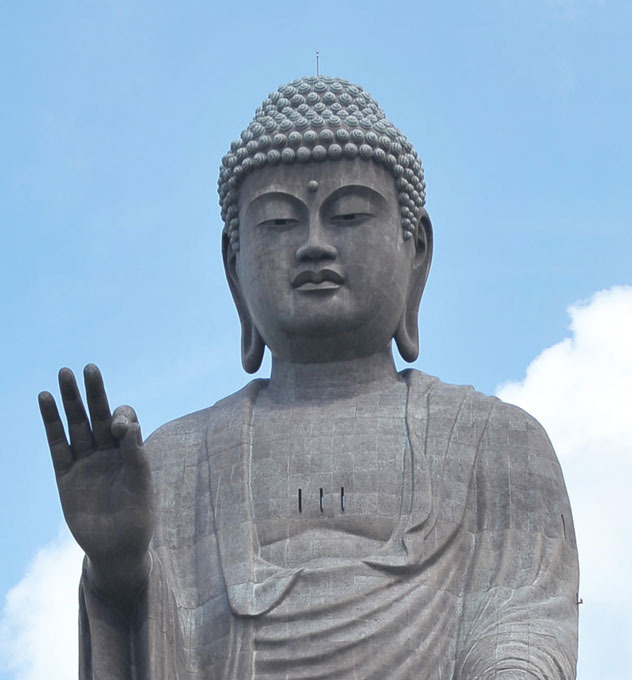 One of world's tallest Buddha statues