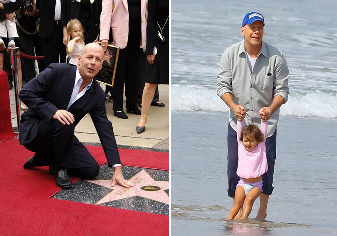 Bruce Willis: Tough guy vs. nice man