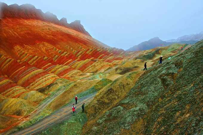 Amazing photos of Danxia landform