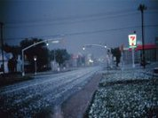 Bacteria may be responsible for the formation of hail and snow