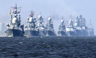 Russian warships take to the Black Sea