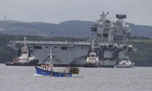 Computers of UK's largest-ever military ship run Windows XP