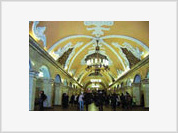 Stalin Honored at Moscow Metro, Albeit Virtually