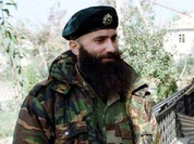 Chechen terrorist Shamil Basaev detests Russian officials in Russia, but likes them abroad