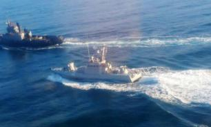 Russia and Ukraine clash in Kerch Strait off Crimea. Ukrainian navy men wounded