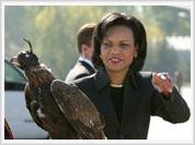 Condoleezza Rice tries to win Central Asia's sympathies for USA's purposes
