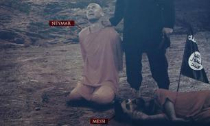 Islamic State executes Messi and Neymar prior to World Cup 2018