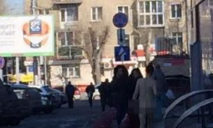 Naked woman on Karl Marx Square startles passers-by in Novosibirsk
