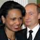 Russia exercises its political determination with Condoleezza Rice