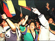 Ecuador's Congress backs president but protests continue