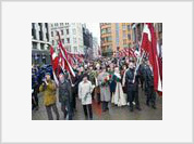 Latvian Nazis March Again Glorifying Hitler's Germany