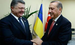 Poroshenko gives Kherson region to Turks