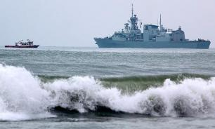 US warships get too close to Russia