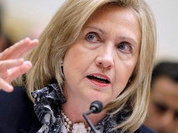 Hillary Clinton acts against her conscience and flatters Russia