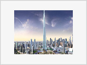 Burj Dubai can't touch the sky