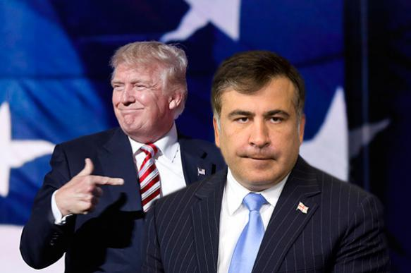 Saakashvili reveals age-long friendship with Trump