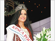 Hot brunette from Siberia wins the crown of Russia's Beauty for her high IQ