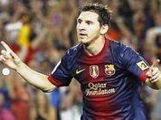 Messi sets club record at Barça