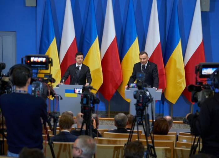 President of Poland Duda or President of Ukraine Zelensky - Who is the bigger traitor?