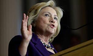 Hillary Clinton fell on her own sword