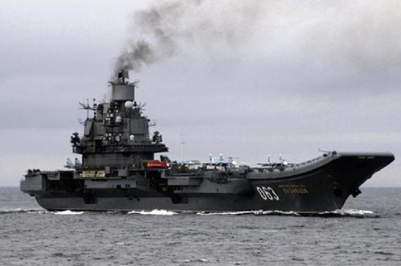 Russia's aircraft-carrier Admiral Kuznetsov on fire during repairs