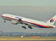Where is the Malaysian aircraft?