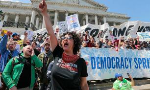 US police disperses rally for fair elections, 400 arrested