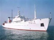 Chinese ship on long ocean expedition