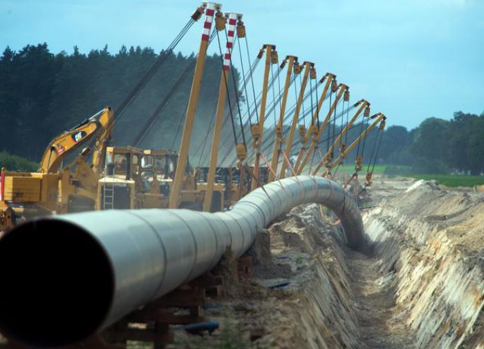 Putin announces completion of first section of Nord Stream 2