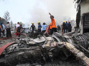 Hercules C-130 crashes in Indonesia