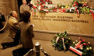 Poland exhumes remains of late President Lech Kaczynski
