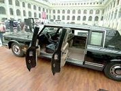 Armored vehicle of former Soviet and Russian presidents available for purchase