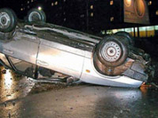 A car crash can make for the Guinness Book of Records