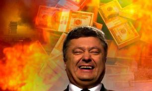 Poroshenko sells Ukraine's independence for $1 billion