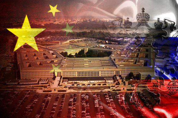 Pentagon to encircle Russia and China