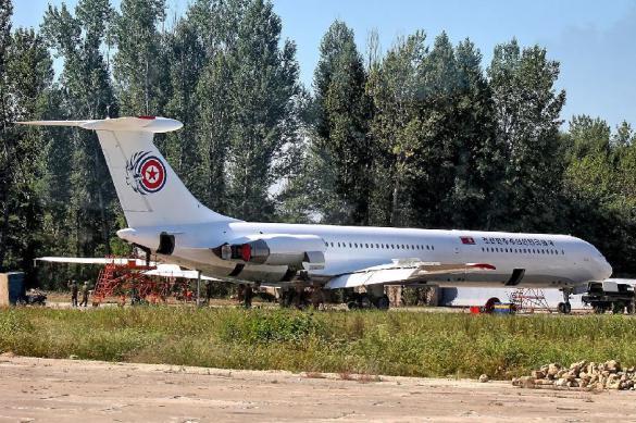 Kim Jong-un's aircraft lands in Russia
