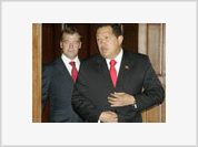 Hugo Chavez in Moscow Thinks First, Then Speaks